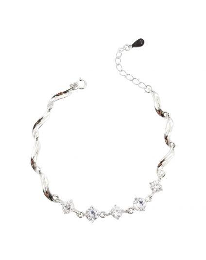 Swiveled Crystal Bracelet