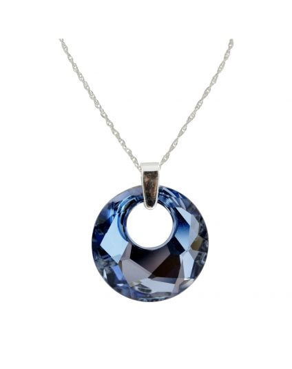 Large Victory Crystal Necklace