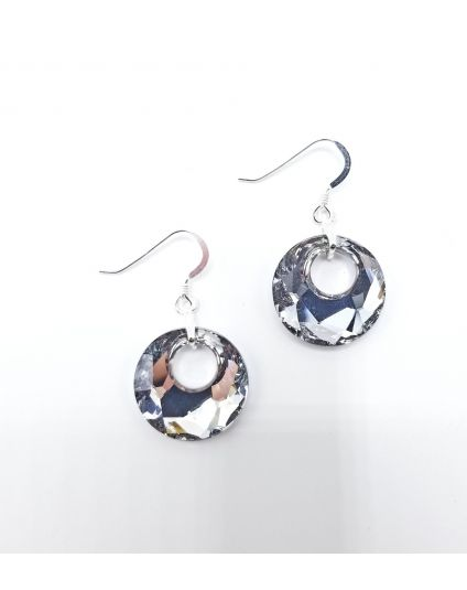 Small Victory Crystal Earrings
