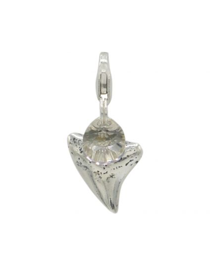 Sterling Silver Shark Tooth Add-On Charm
