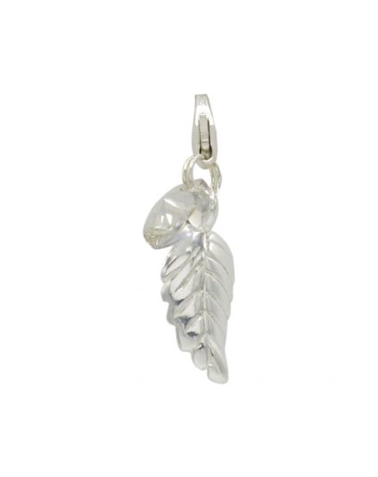 Sterling Silver Leaf Add-On Charm