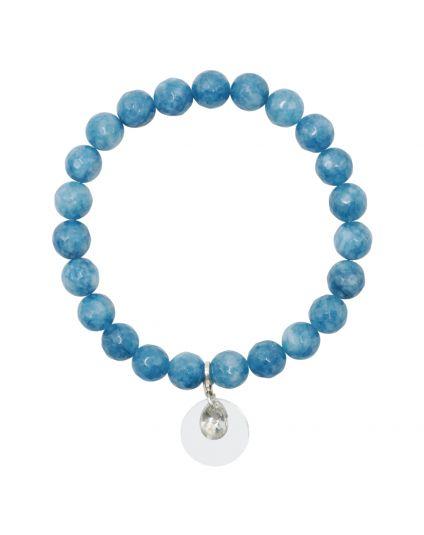 Jade - Blue Cobalt Stretch Bracelet