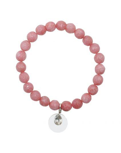 Jade - Strawberry Stretch Bracelet