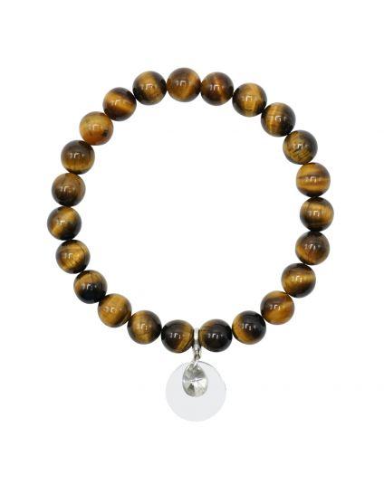Gold Tiger's Eye Stretch Bracelet