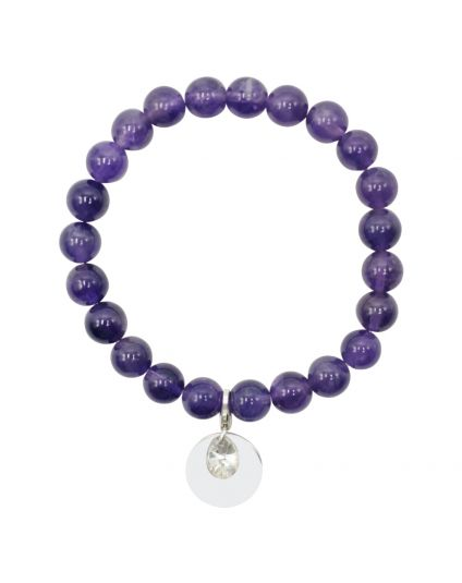 Amethyst Stretch Bracelet