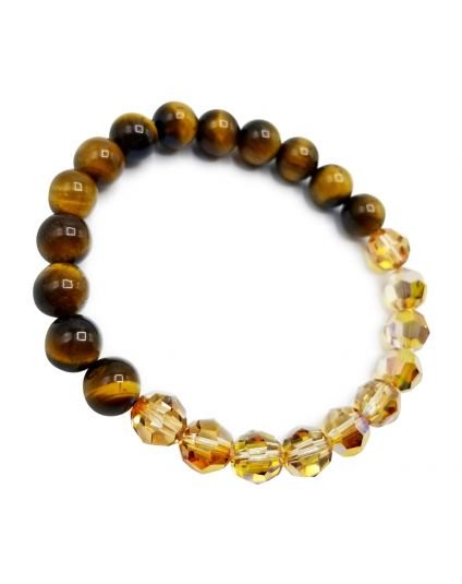 Sunshine & Tigereye Stretch Bracelet