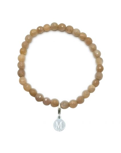Sunstone Stretch Bracelet ''Personalize it''