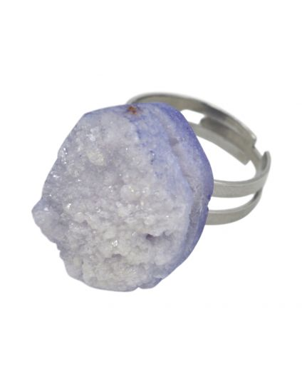 Large Druzy Rock Ring