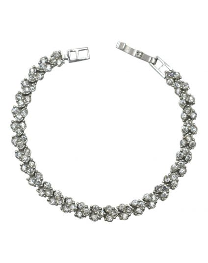 Full Crystal Tennis Bracelet