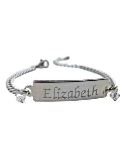 Stainless Steel Personalized Bracelet