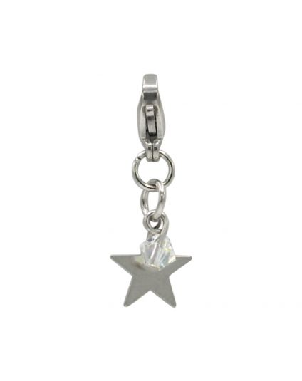Stainless Steel Star Add-On Charm