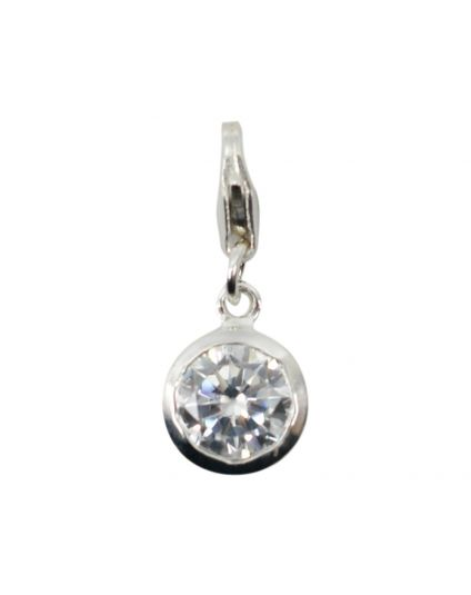 Round Crystal Birthstone Add-On Charm