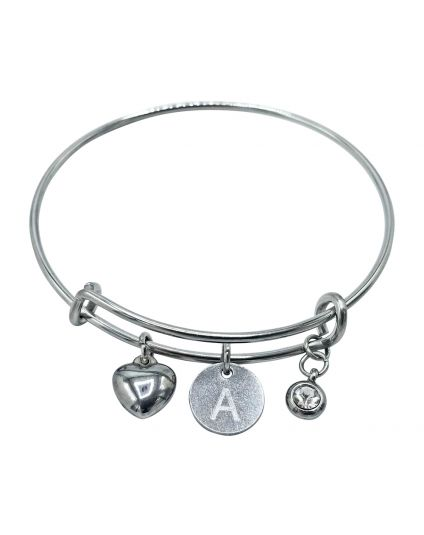 Multi Charm Personalized Bangle
