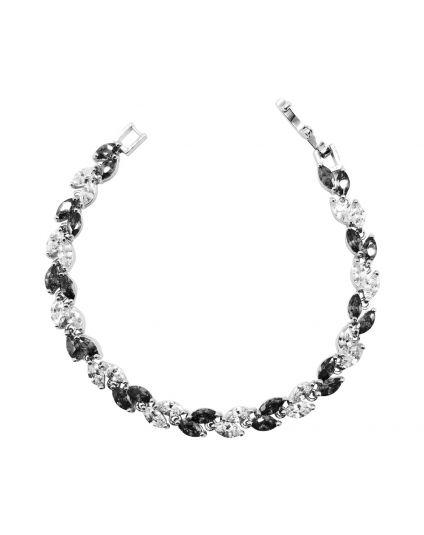 Full Crystal Drop Tennis Bracelet