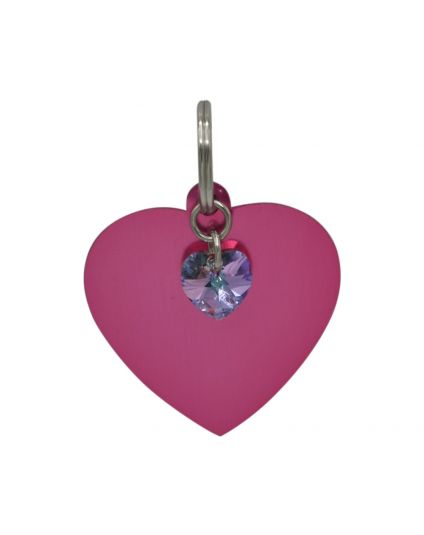 Personalized Heart Pet Tag