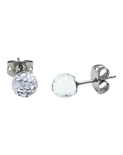 Fancy Crystal Ball Studs