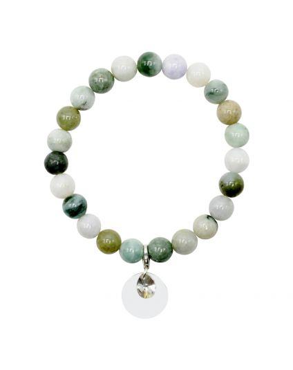 Burmese Jadeite Stretch Bracelet